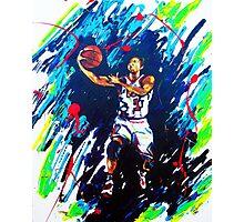 Derricks Rose Chicago Bulls Photographic Print