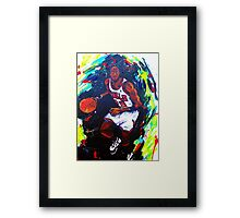 Michael Jordan- Sports Framed Print