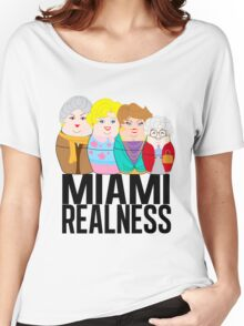 Miami Realness Women's Relaxed Fit T-Shirt