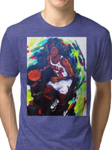 Michael Jordan- Sports Tri-blend T-Shirt