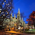 Christmas postcard from Vienna by Hercules Milas