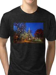 Christmas postcard from Vienna Tri-blend T-Shirt