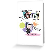 Standard Book of Spells: Grade One Greeting Card