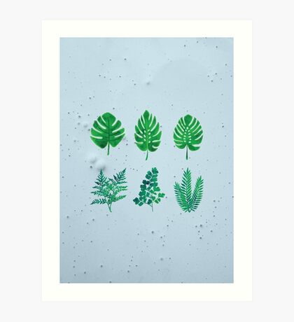 Green Palm  Art Print