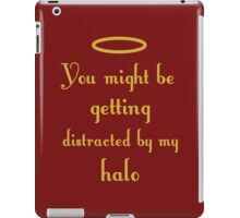 Halo distraction design iPad Case/Skin