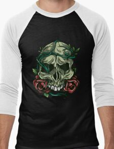 Skull #2 Men's Baseball ¾ T-Shirt