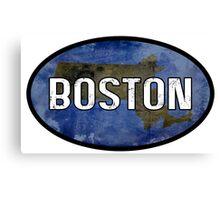 Boston Blue Canvas Print