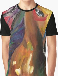 Indian Pony Graphic T-Shirt