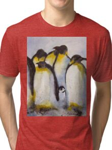 Penguin Party Tri-blend T-Shirt