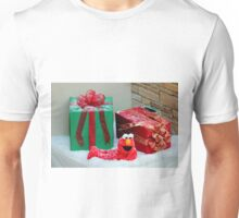 Elmo With Presents Unisex T-Shirt