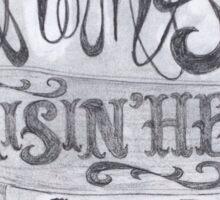 Southern Belle Raisin' Hell Sticker