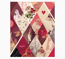Taylor Swift Red Collage Unisex T-Shirt