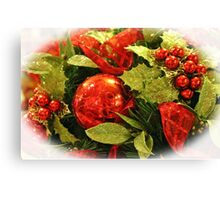 Festive Centerpiece Canvas Print