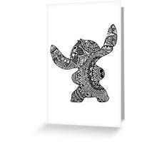 Stitch Zentangle Greeting Card