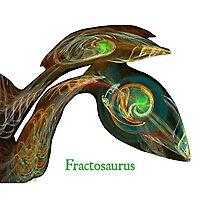 Fractosaurus Photographic Print
