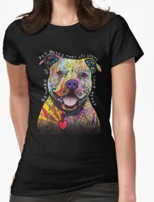 PITBULL LOVER-BEWARE MY BITPULL WILL STEAL YOUR HEART! T-Shirt