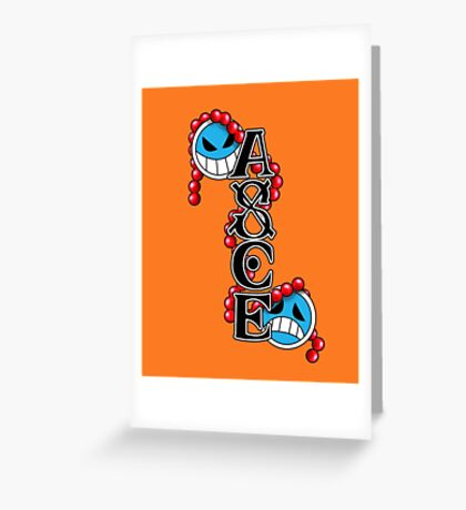 Portuguese D. Ace [One Piece] Greeting Card