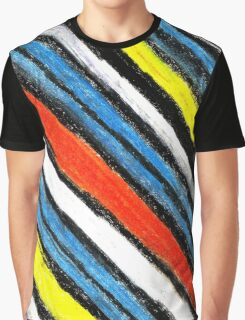 Colored Stripes (original drawing) Graphic T-Shirt