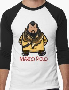 Kublai Khan - Marco Polo Men's Baseball ¾ T-Shirt