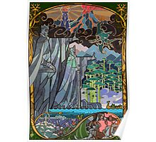 The Gates of Argonath Poster