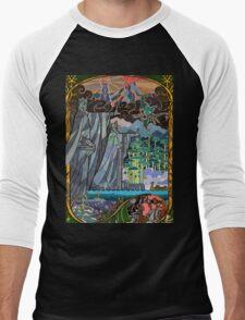 The Gates of Argonath Men's Baseball ¾ T-Shirt