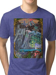 The Gates of Argonath Tri-blend T-Shirt