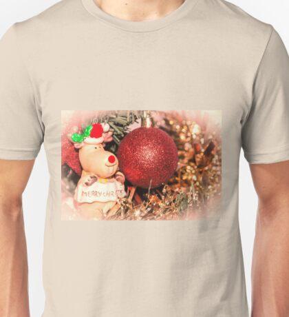 Merry Christmoose Unisex T-Shirt