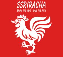 SSRIracha - Bring The Heat, Ease The Pain by wetdryvac