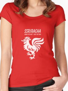 SSRIracha - Bring The Heat, Ease The Pain Women's Fitted Scoop T-Shirt