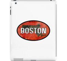 Boston Red iPad Case/Skin