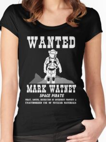 Mark Watney: Space Pirate - The Martian Women's Fitted Scoop T-Shirt
