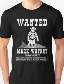 Mark Watney: Space Pirate - The Martian T-Shirt