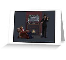 Baker Street Christmas Greeting Card