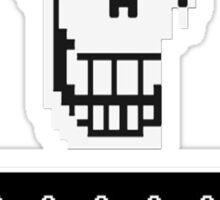 Undertale design Sticker