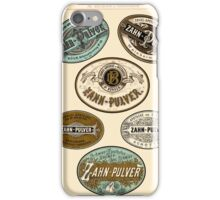 Nineteenth Century Apothecary Labels | 01 iPhone Case/Skin