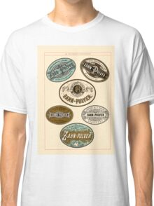 Nineteenth Century Apothecary Labels | 01 Classic T-Shirt