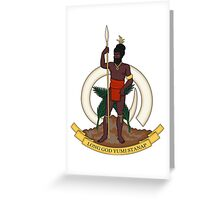 Coat of Arms of Vanuatu  Greeting Card
