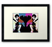 Bearded Poppy Duo #1 Framed Print