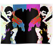 Bearded Poppy Duo #1 Poster