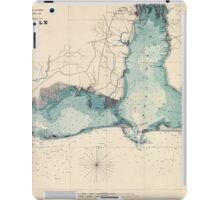 Civil War Maps 0053 Approaches to Mobile Ala 1864 iPad Case/Skin