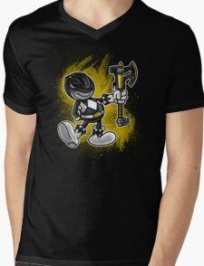 Vintage Black Ranger Mens V-Neck T-Shirt
