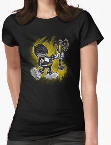 Vintage Black Ranger Womens Fitted T-Shirt