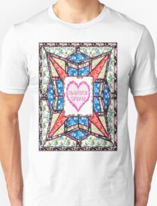 Love star vintage style gifts Unisex T-Shirt