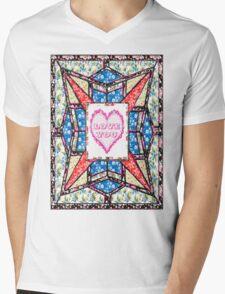 Love star vintage style gifts Mens V-Neck T-Shirt