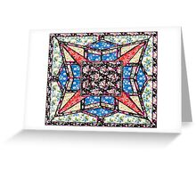 Love star vintage style gifts Greeting Card