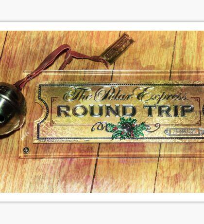 Polar Express Bell and Ticket Sticker