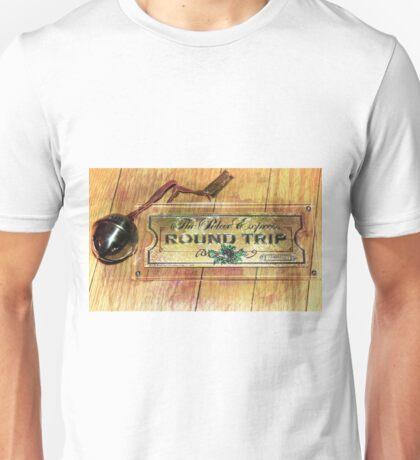 Polar Express Bell and Ticket Unisex T-Shirt