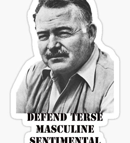 Hemingway  Sticker