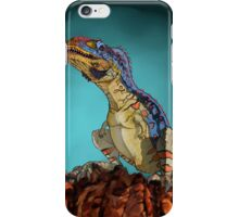 Majungasaurus, a theropod dinosaur from the Cretaceous Period. iPhone Case/Skin