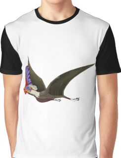 Tapejara, a genus of Brazilian pterosaur from the Cretaceous Period. Graphic T-Shirt
